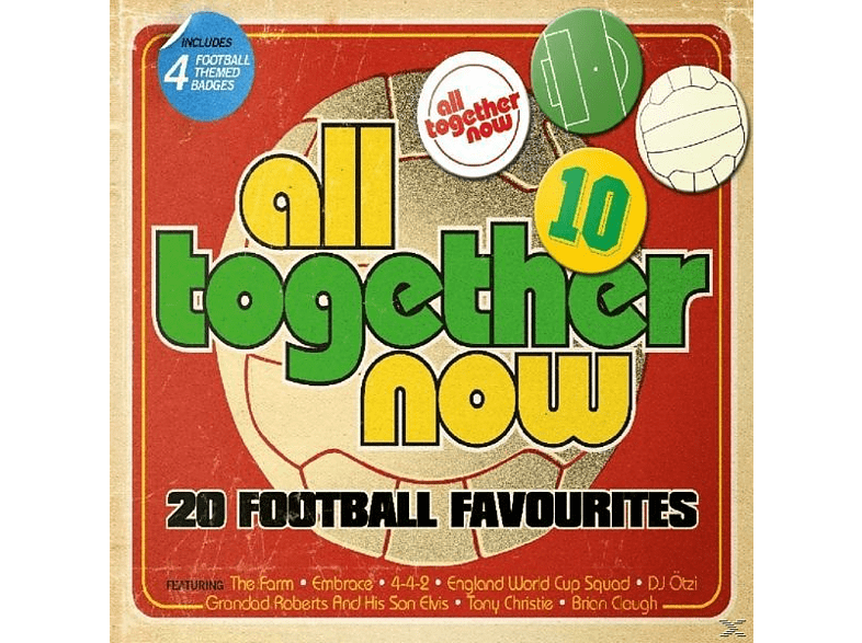 VARIOUS - All Together Now [CD]
