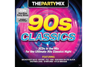 VARIOUS - Party Mix 90's Classic - (CD)