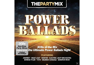 VARIOUS - Party Mix Power Ballads [CD]