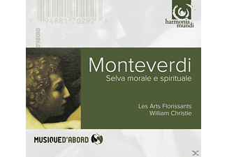 William/les Arts Florissants Christie - Selva Morale - (CD)