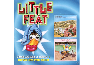 Little Feat - Time Loves A Hero+Down On The Farm - (CD)