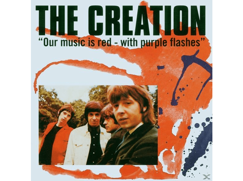 The Creation - Our Music Is Red With Purple Flashes [CD]
