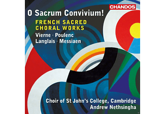 Andrew Nethsingha, Choir Of St. John's College - French Sacred Choral Works - (CD)