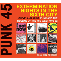 VARIOUS - Punk 45:Extermination Nights In The Sixth City [CD]