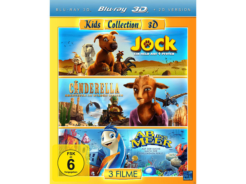 Kids Collection 3D [3D Blu-ray]