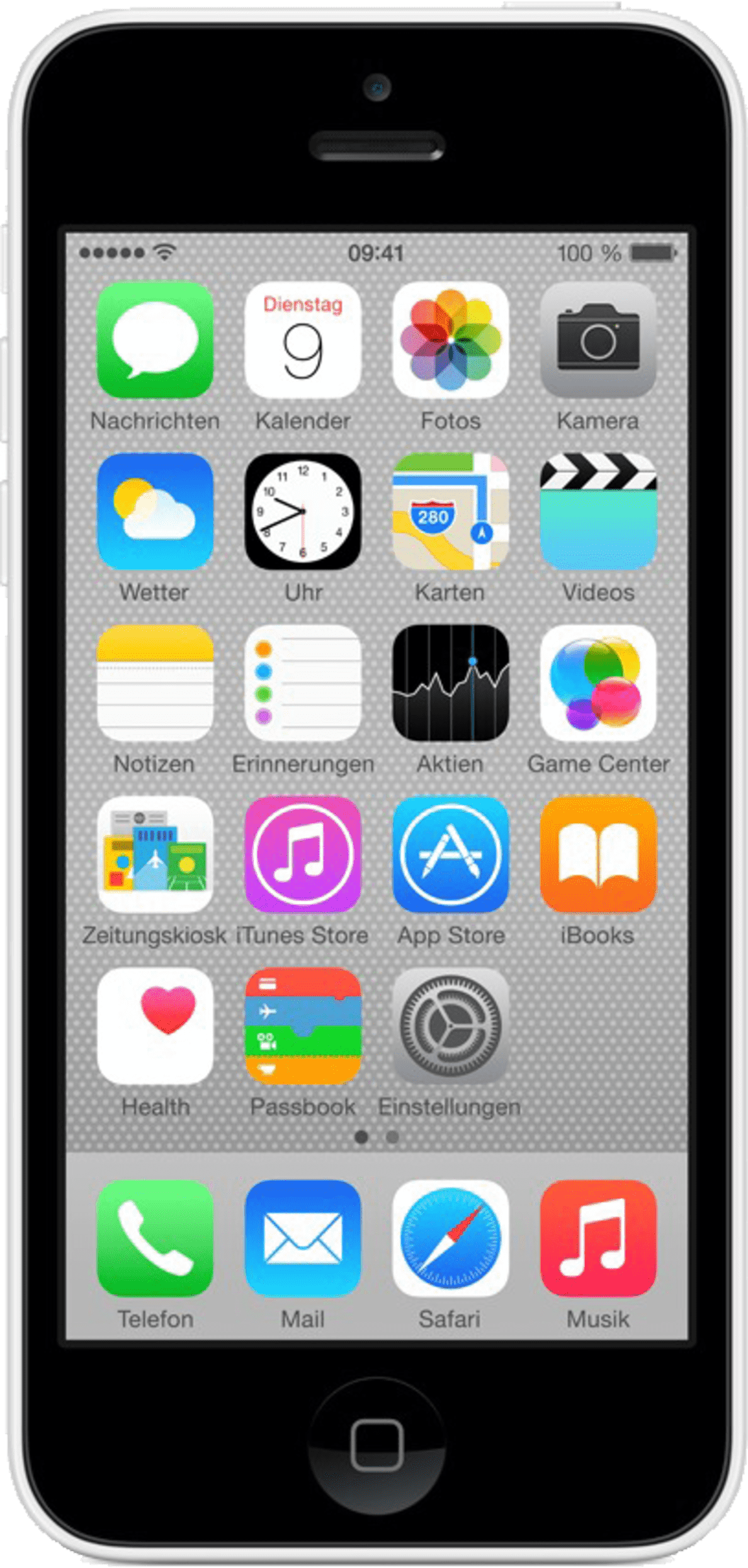 APPLE iPhone 5s, Smartphone, 16 GB, Weiß
