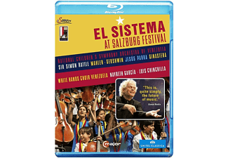 Simon Rattle - El Sistema At The Salzburg Festival - (Blu-ray)