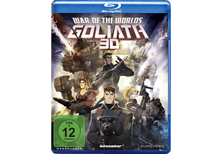 War of the Worlds: Goliath 3D - (3D Blu-ray)