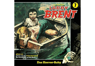 Larry Brent - Larry Brent 07: Das Horror-Baby - (CD)