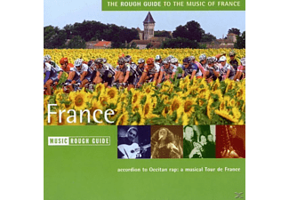 VARIOUS - Rough Guide: France - (CD)