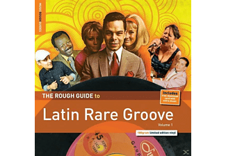 VARIOUS - Rough Guide: Latin Rare Groove - (LP + Download)