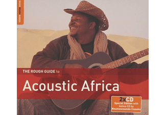 VARIOUS - The Rough Guide To Acoustic Africa - (CD + Bonus-CD)