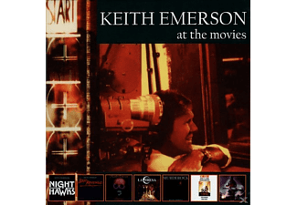 Keith Emerson - At The Movies (Deluxe3CD Expanded Remastered Box) - (CD)