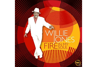 Willie Jones - Fire In My Soul - (CD)