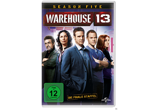 Warehouse 13 - Staffel 5 - (DVD)