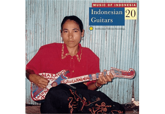 VARIOUS - Music of Indonesia - Indonesian Guitars 20 - (CD)