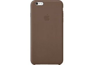 APPLE iPhone 6 Plus Leather Case Brown - (MGQR2ZMA)