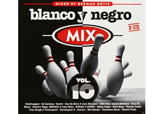Various - Blanco Y Negro Mix Vol.10 - (CD)