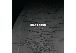 Giant Sand - Is All Over The Map - (CD)