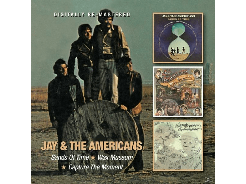 Jay & The Americans - Sands Of Time/Wax Museum/Capture The Moment [CD]