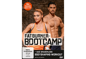 Fatburner-Bootcamp - das gnadenlose Bodyshaping-Workout - (DVD)