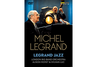 Alison Moyet, Sylvain Luc, London Big Band Orchestra - Legrand Jazz: Live From Salle Pleyel Paris 2009 - (DVD)