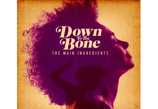 Down To The Bone - The Main Ingredients - (CD)