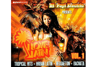 VARIOUS - Dj Papi Electric Pres. I Love Latin - (CD)