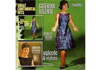 Caterina Valente - Great Continental Hits / Valente & Violins - (CD)