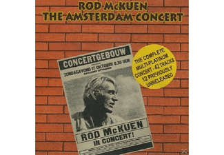Rod Mckuen - THE AMSTERDAM CONCERT - (CD)