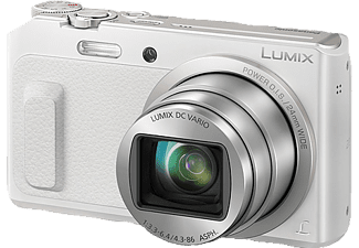 PANASONIC Lumix DMC-TZ58 Digitalkamera, 16 Megapixel, 20x opt. Zoom, Weiß