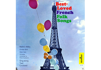 Christian Borel, Claire Vallin, Mathé Altery, André Claveau - 24 Best - Loves French Folk Songs - (CD)