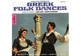 The Spectacular Bouzoukee Of Takis Elenis, The Feenjon Group, Anestos Athanasious - Greek Folk Dances - (CD)