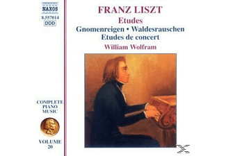 William Wolfram - Etüden - (CD)