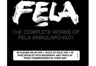 Fela Kuti - The Complete Works (26cd+Dvd/Remasters) - (CD + DVD)