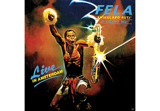 Fela Kuti - Live In Amsterdam - (CD)