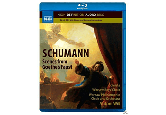 Warsaw Boys Choir, Wit Antoni, Warsaw Philharmonic Choir And Orchestra - Szenen aus Goethes Faust - (Blu-ray Audio)