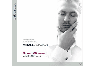 Oliemans - Mirages-Melodies - (CD)
