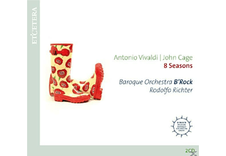 Rodolfo Richte, Baroque Orchestra B'rock - 8 Seasons - (CD)