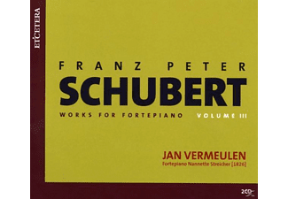Jan Vermeulen - COMPLETE WORKS FOR PIANOFORTE Vol.3 - (CD)
