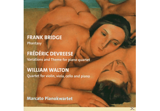 Marcato Pianokwartet - Fantasie/Quartett - (CD)