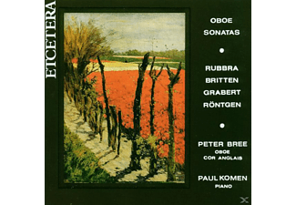 Peter Bree, Paul Komen - Oboe Sonatas - (CD)