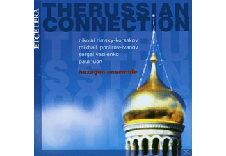 Hexagon Ensemble - The Russian Connections Three - (CD)