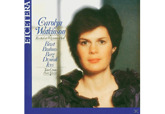 Watkinson,Carolyn/Crone,Tan - Live At Wigmore Hall - (CD)