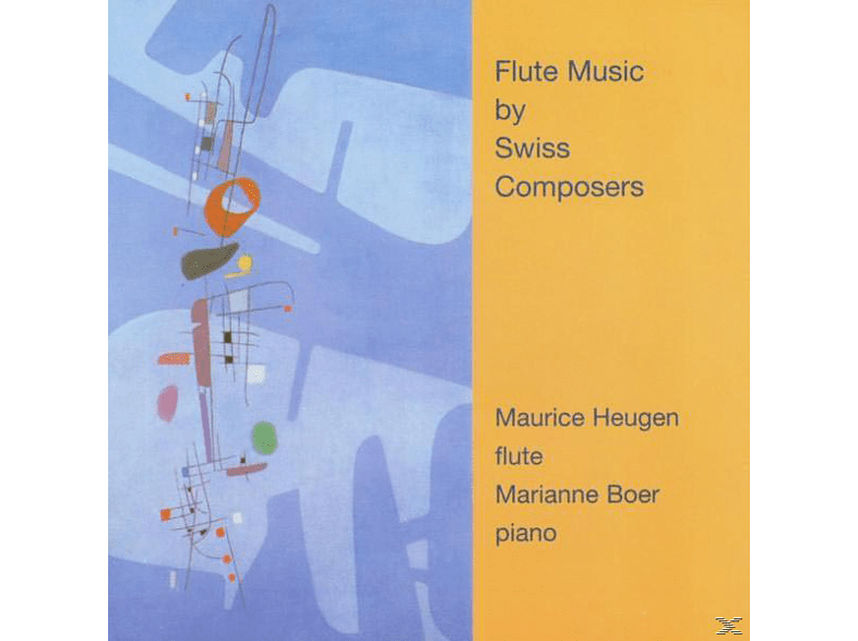 Maurice Heugen - Flute Music By Swiss Composers [CD]