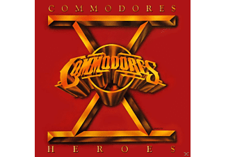 The Commodores - Heroes - (CD)