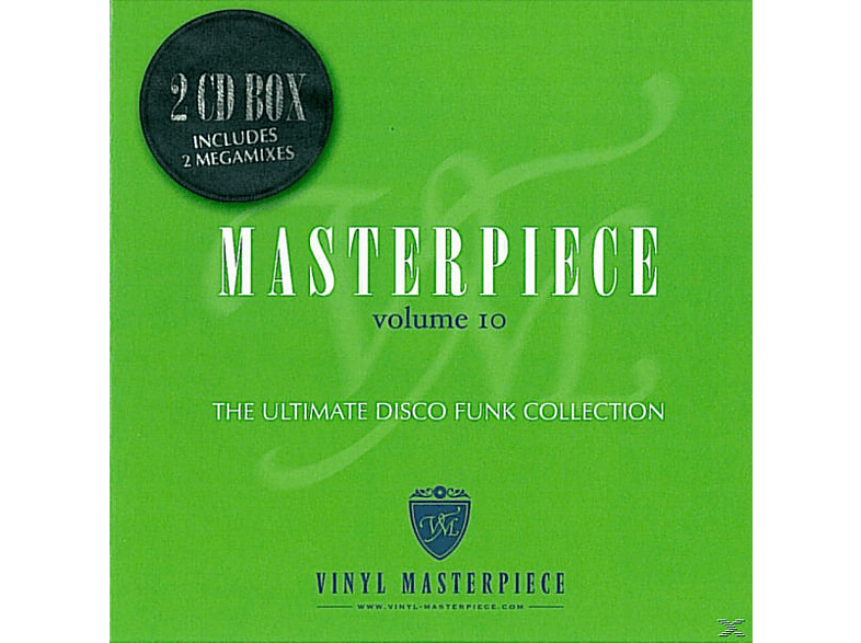 VARIOUS - Masterpiece The Ultimate Disco Collection Vol.10 [CD]