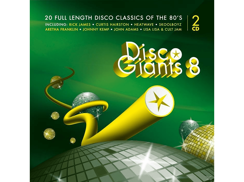 VARIOUS - Disco Giants Vol.8 [CD]