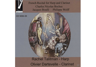 Dartevelle,Olivier/Talitman,Rachel - French Recital for Harp and Clarinet - (CD)