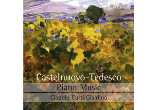 Claudio Curti Gialdino - Piano Music - (CD)